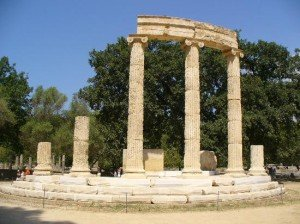 ancient olympia in greece