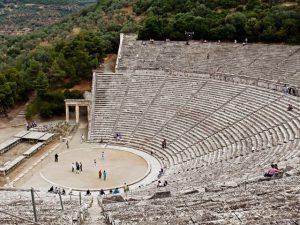 theater of epidaurus or epidavros