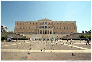 greek parliament syntagma athens