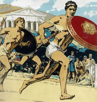 a history of the olympic games an athletic event tradition from ancient greece Since 1896, the year the olympics were resurrected from ancient history, the olympics have been a symbol of the camaraderie and harmony possible on a global.