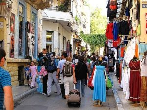 plaka in Athens