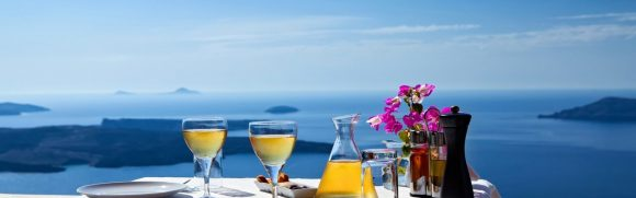 A charming private tour in Fira and the vineyards of Santorini
