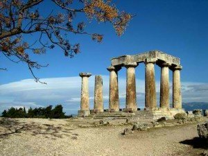 temple of apollo in ancient corinth