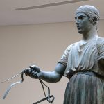 the charioteer at delphi museum