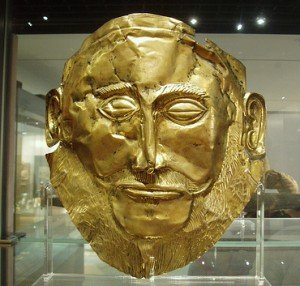 mask of king Agamemnon